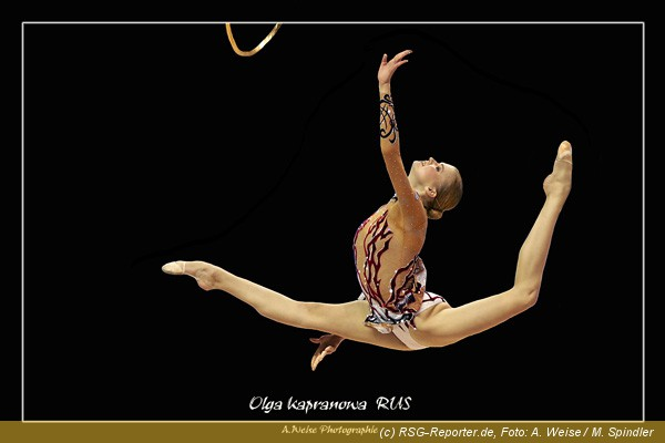 Gymnastik Tanz Band Elemente